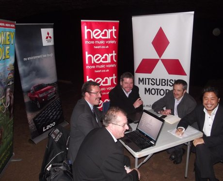 Mitsubishi take on Brave In A Cave