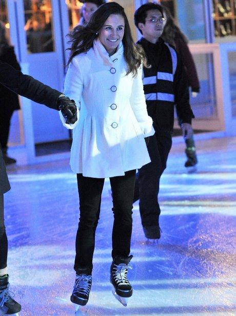 Pippa Middleton Ice Skating