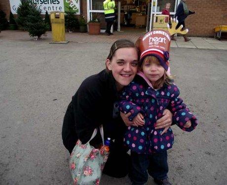 Santa's Arrival at Yarnton Nurseries