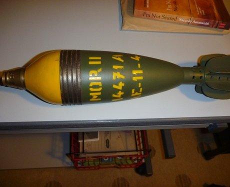 Luke Stillman Explosion Mortar Walgrave Northamton