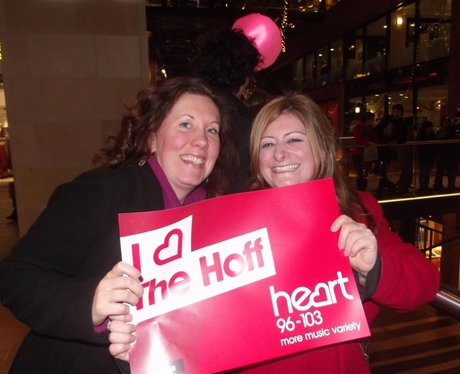 A Night with The Hoff at Cabot Circus