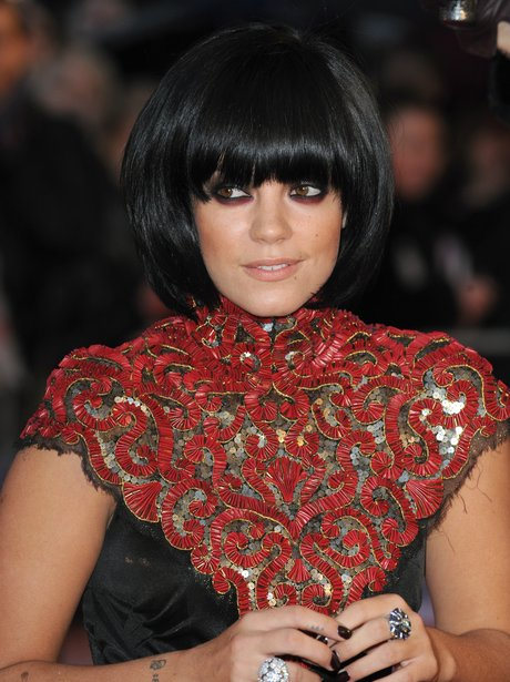Lily Allen on red carpet