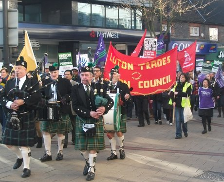 Public Sector Strike Luton