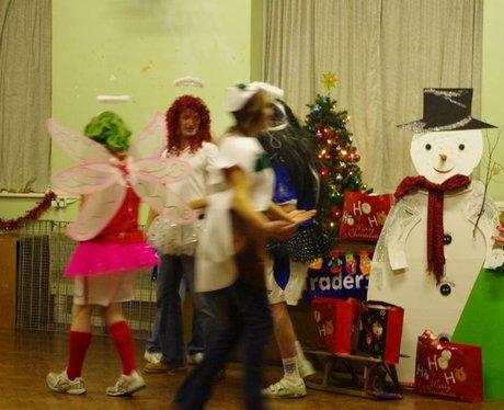 Albert Road at Christmas
