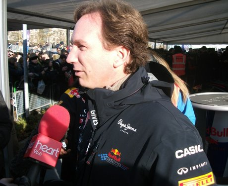Christian Horner and Adrian Newey MK Red Bull Home