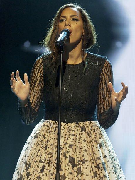 Leona Lewis performing live