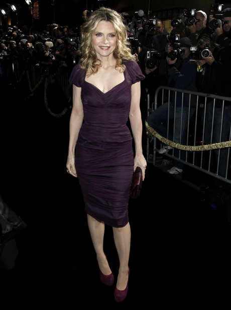 Michelle Pfeiffer arrives for the New Year's Eve p