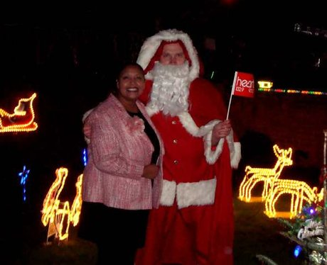 Michelle's Christmas Light Switch On