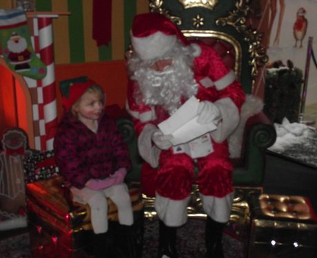 Santa at West Quay
