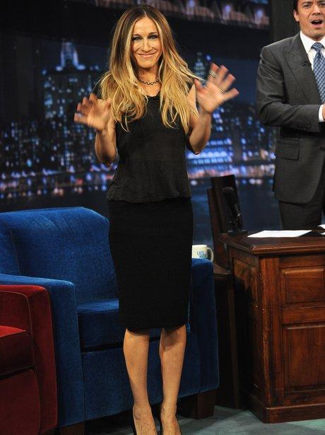 Sarah Jessica Parker on a tv show