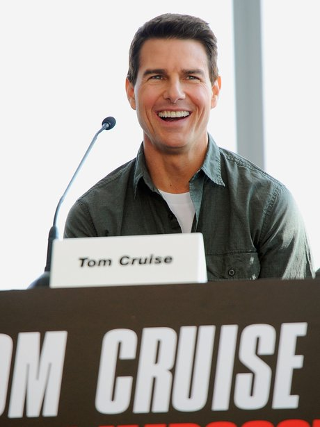Tom Cruise press conference