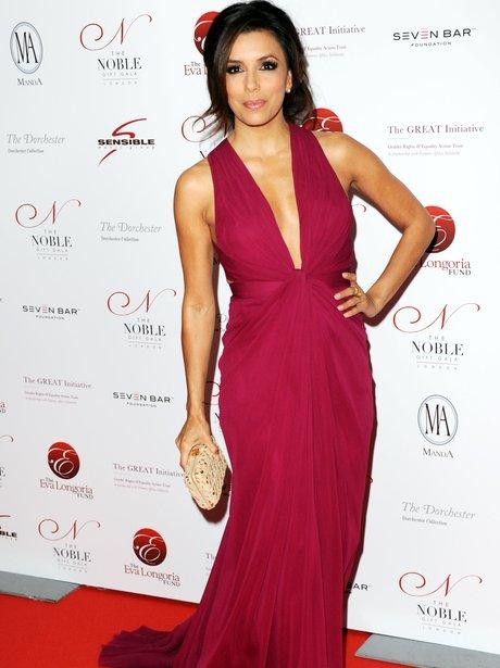 Eva Longoria on the red carpet