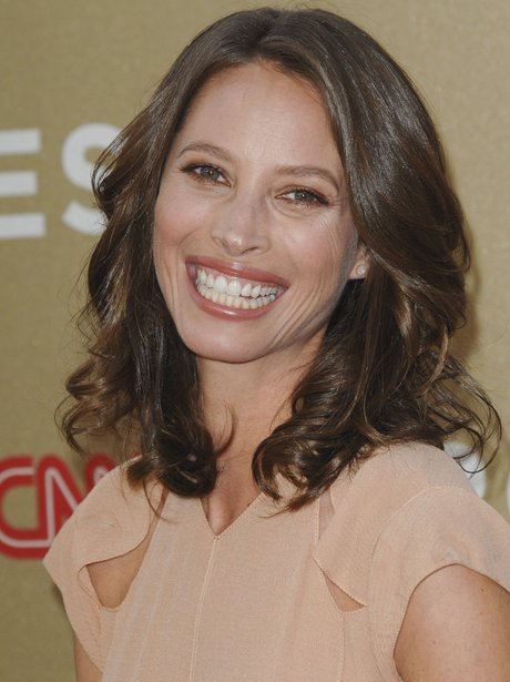 Christy Turlington smiling