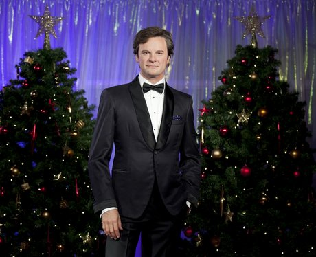 Colin Firth wax figure