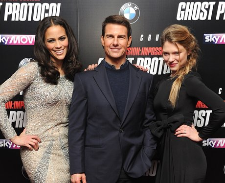 Paula Patton, Tom Cruise and Lea Seydoux