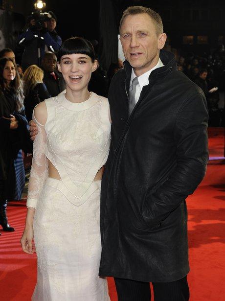 Rooney Mara  with Daniel Craig