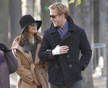 Ryan Gosling with Eva Mendes