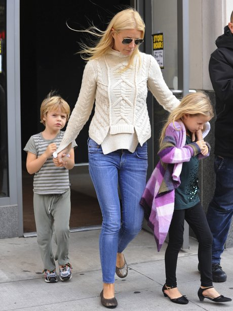 Moses Martin out with mum Gwyneth Paltrow