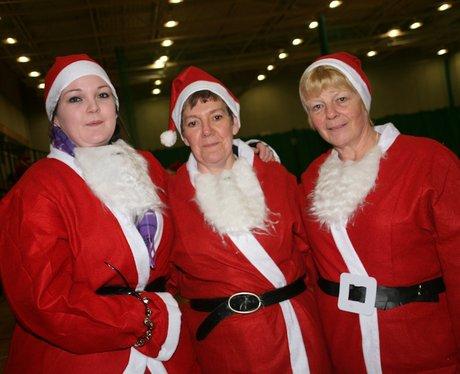 Norwich Santa Run 2011