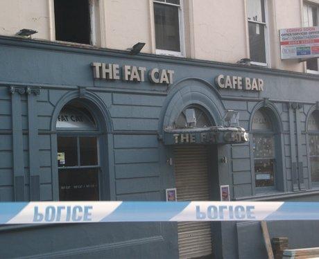 Fat Cat Fire Damage