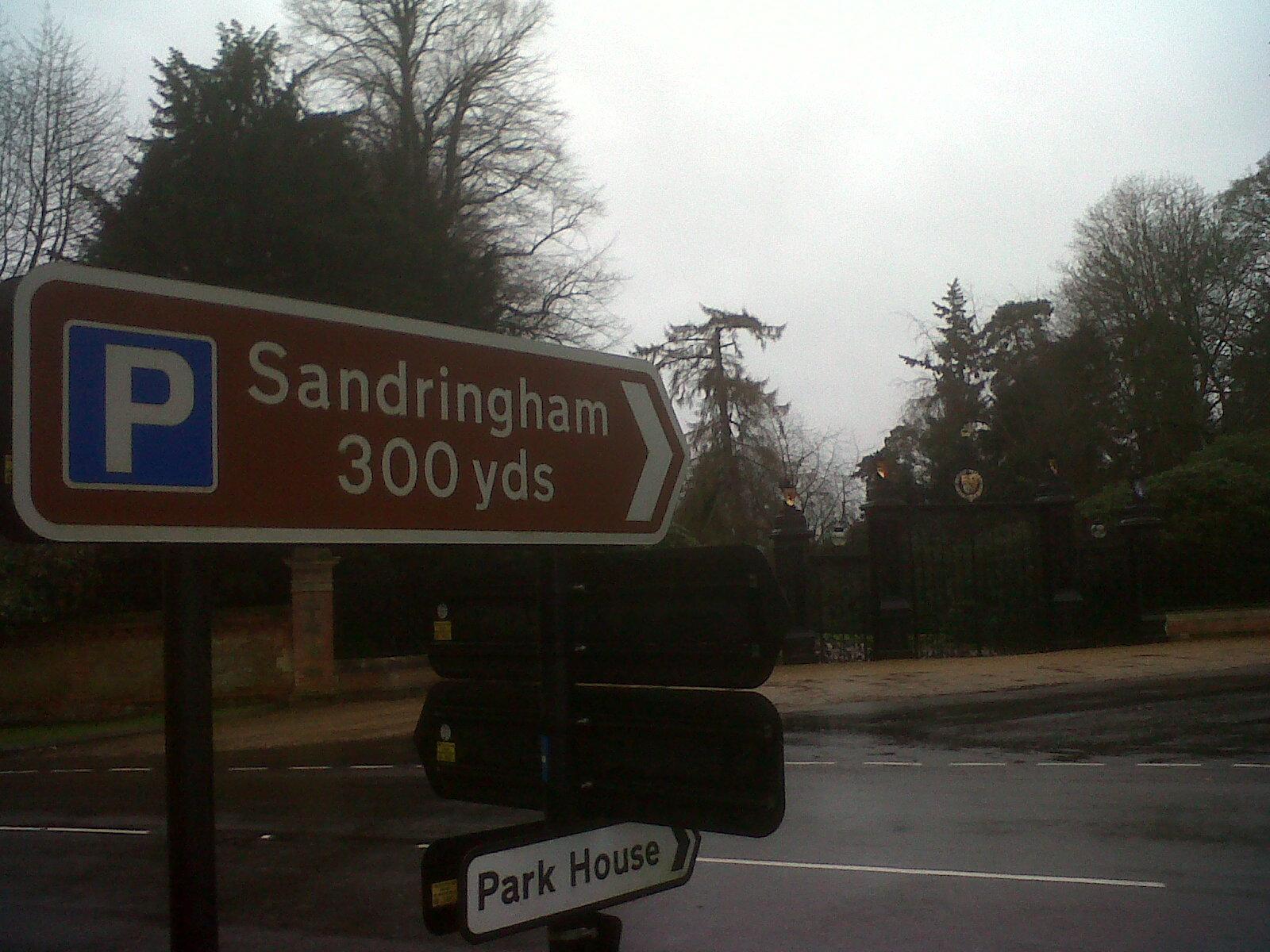 sandringham sign
