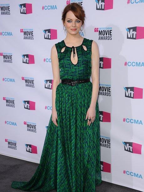 Emma Stone's Jason Wu dress