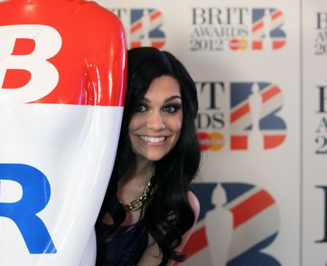 Jessie J at the BRIT 2012 Awards Nominations - 7 Days in ...