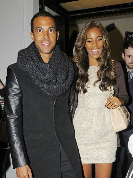 Marvin and rochelle step out for night out