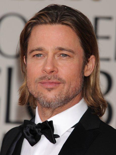 Brad Pitt at the Golden Globes 2012