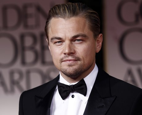 Leonardo Dicaprio at the Golden Globes