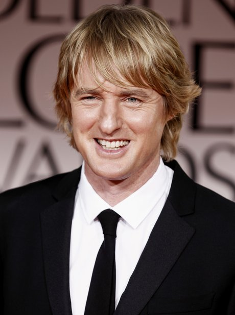 Owen Wilson at the Golden Globes