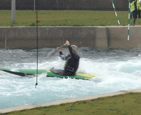 Team GB At Lee Valley White Water Centre