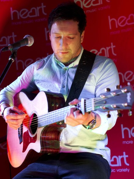 Matt Cardle on Stage at the Heart Cambridgeshire