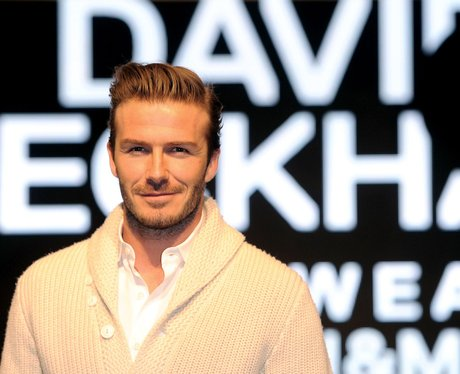 David Beckham H&M Launch
