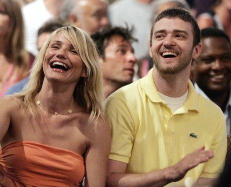 Jutsin Timberlake with Cameron Diaz