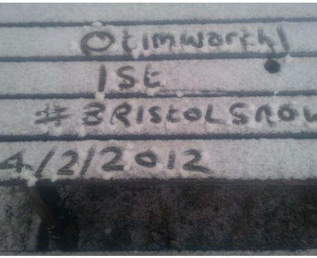 Name in Snow
