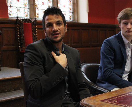 Peter Andre Oxford Union
