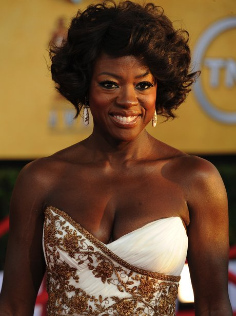 Viola Davis at the SAG Awards 2012