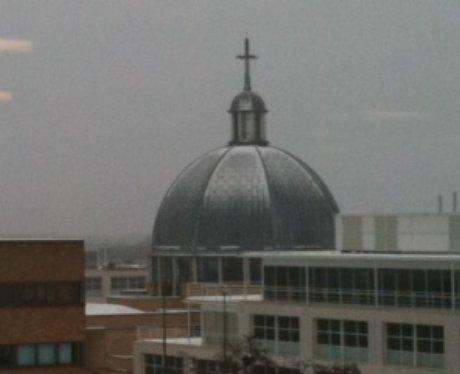 Central Milton Keynes in the snow