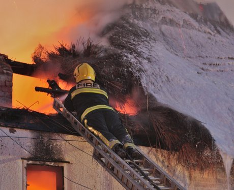 Firefighters spent 24 hours on the scene