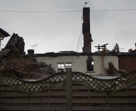Crediton Cottage fire