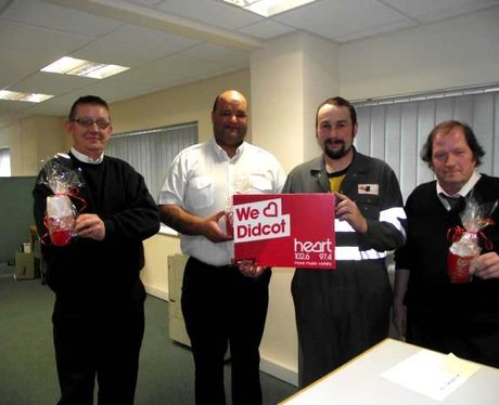 Heart mugs of Love in Didcot