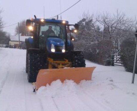 Keysoe Snow Plough