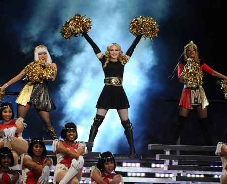 Madonna Super Bowl 2012