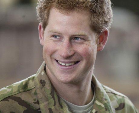 Prince Harry at RAF Honington