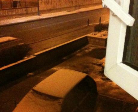 Snow in Bradley Stoke