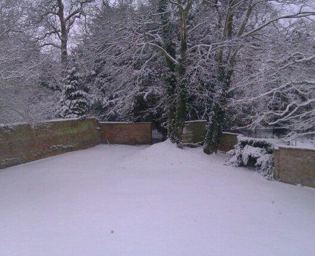 Snow in Kimbolton