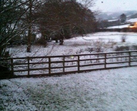 Snow in Upper Weston