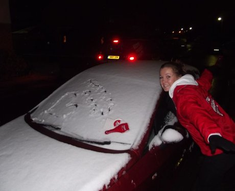 West Country Snow Angels!