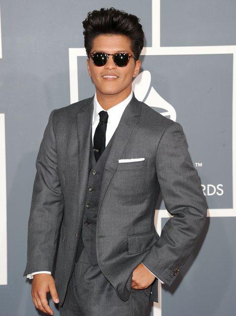 Bruno Mars at Grammy Awards 2012